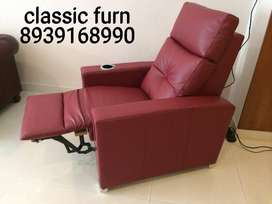 brand new great look recliner sofa single seater