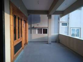 A 2BHK portion in an independent house available for rent