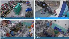 CCTV DENGAN FITUR TERLENGKAP DAN KUALITAS KAMERA SANGAT BAIK