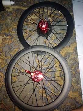 Dijual velg sepeda lipat ring