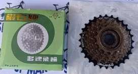 Sprocket Drat Ulir / FreeWheel Sepeda 7 Speed
