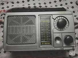5 BAND PORTABLE RADIO