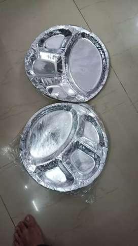 Haidrolic paper plate machin with 5 dai
