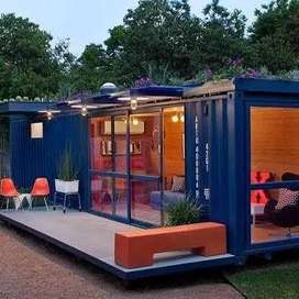 container house/ office container/ vip living lounge hall for sale