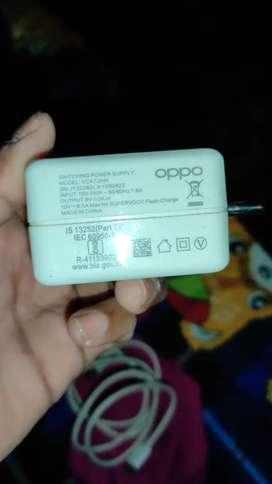 Oppo reno 4 pro original 65 watt chgar