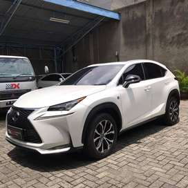 LEXUS NX200T 2016 F-SPORT WHITE ON BLACK-RED ATPM