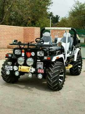 Modified jeeps