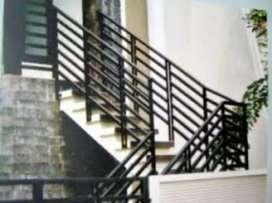 Railings Tangga, Pagar Balkon, Kanopi minimalis, Pintu Garasi, Gerbang