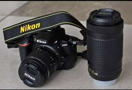 Nikon camera D 5600 DSLR lunch old 1 sal ki warranty Baki