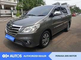 [OLX Autos] Toyota Kijang Innova 2014 2.5 G A/T Diesel Abu-abu #PJM