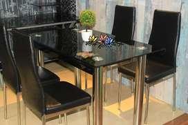 Sofa, meja makan, springbed, lemari hias, dll