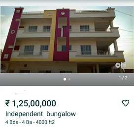 Independent  bungalow for sale