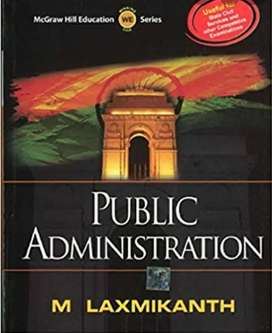 Public administration (new book) UPSE