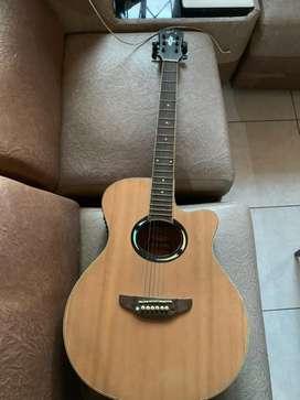Gitar yamaha apx 500 akustik