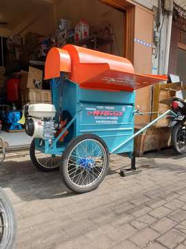 POWER THRESHER MESIN PERONTOK PADI CV. NAKRI COMPLETE HONDA GP 160