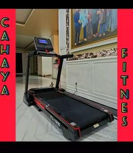 Big treadmil elektrik total tl 126 alat fitness gym