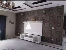 Windows blinds wallpaper wooden flooring available in Isb and Rwp