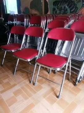 Kursi lipat chitose dan futura seken acara rapat pertemuan