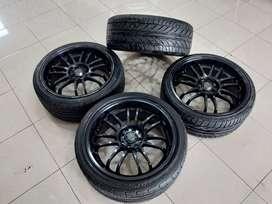 velg racing murah  model rays ring18+ban