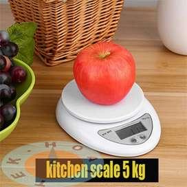 Timbangan Dapur / Timbangan Kue Digital 5Kg Plus Mangkok