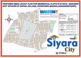 At Chitkul HMDA Residential plots for sale