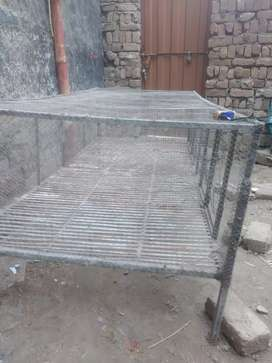 Heavy metal made cage