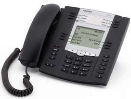 Aastra 6735i HD Audio and GigE, Expandable IP Telephone