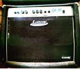 backsound ampli gitar guitar amplifier lexus gc110 scorpion distorsi