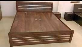 Double bed with storage 002 only 6499