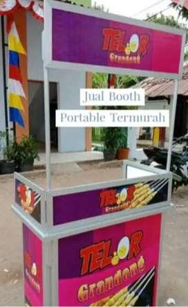 sedia model event desk meja portable jualan sosis telor murah hemat