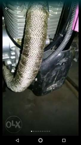 Exhaust performance wrap