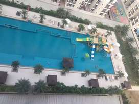 Pool facing balcony with high standard of club facility