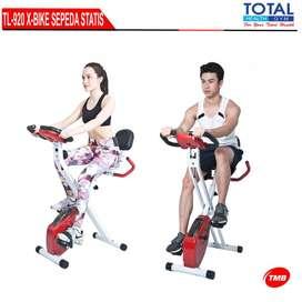 sepeda statis x bike dengan sandaran bisa COD bandung cimahi