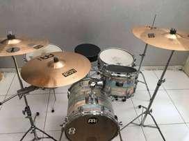 Drum Set Yamaha Rock Tour, Junior Kit Manu Katche, Cymbal AA Meinl MSS