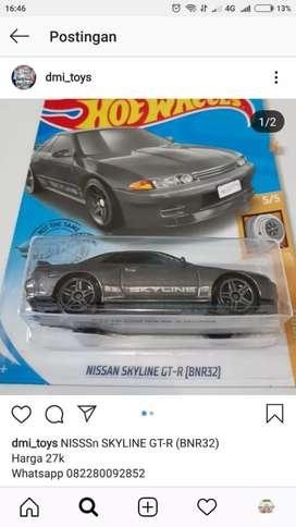 Hotwheels Nissan Skyline GT-R (BNR32)