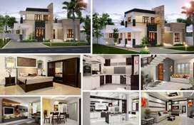 Luxury's duplex villas in 211sqy , finance district