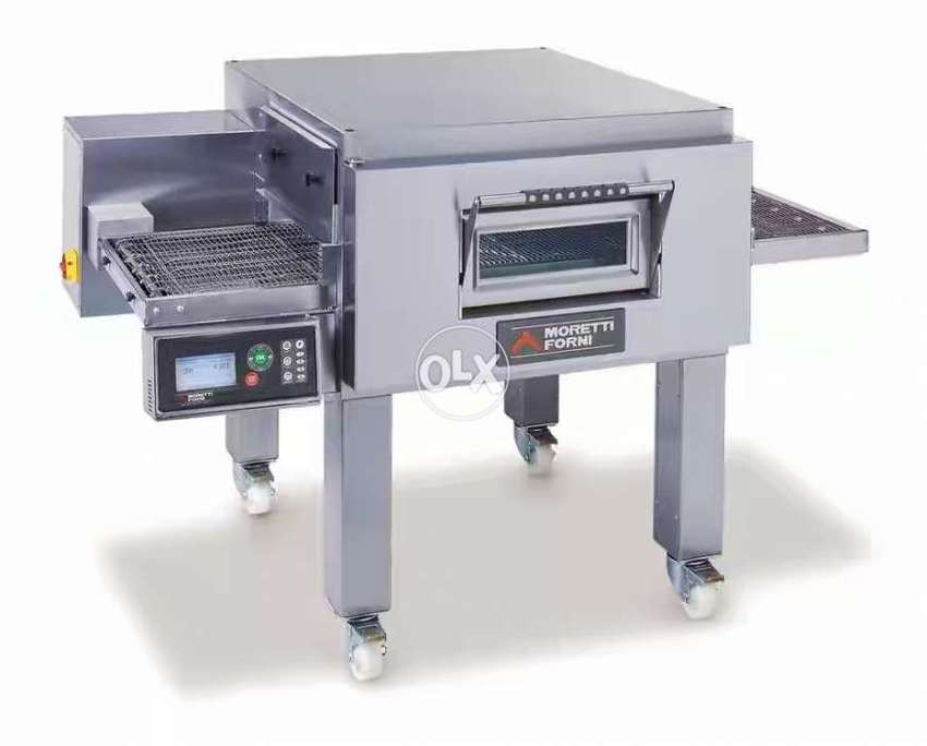 Middleby Marshall Chinese Italian conveyor belt pizza oven available 0