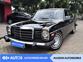 [OLXAutos] Mercedes Benz 1975 Mini 200 W115 MT Bensin Hitam #Allison