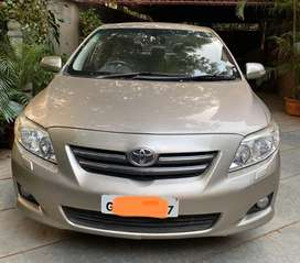 Toyota Corolla Altis Company Owned Showroom OEM Maintained