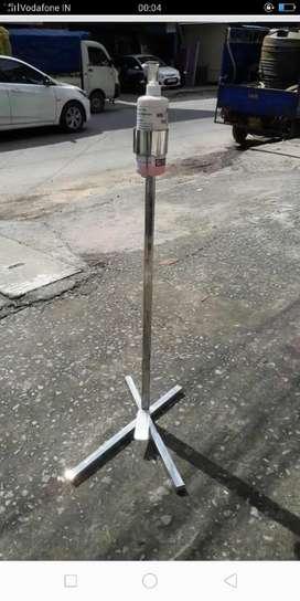 Senitizer stand heavy steel metal 2200 normal 1700