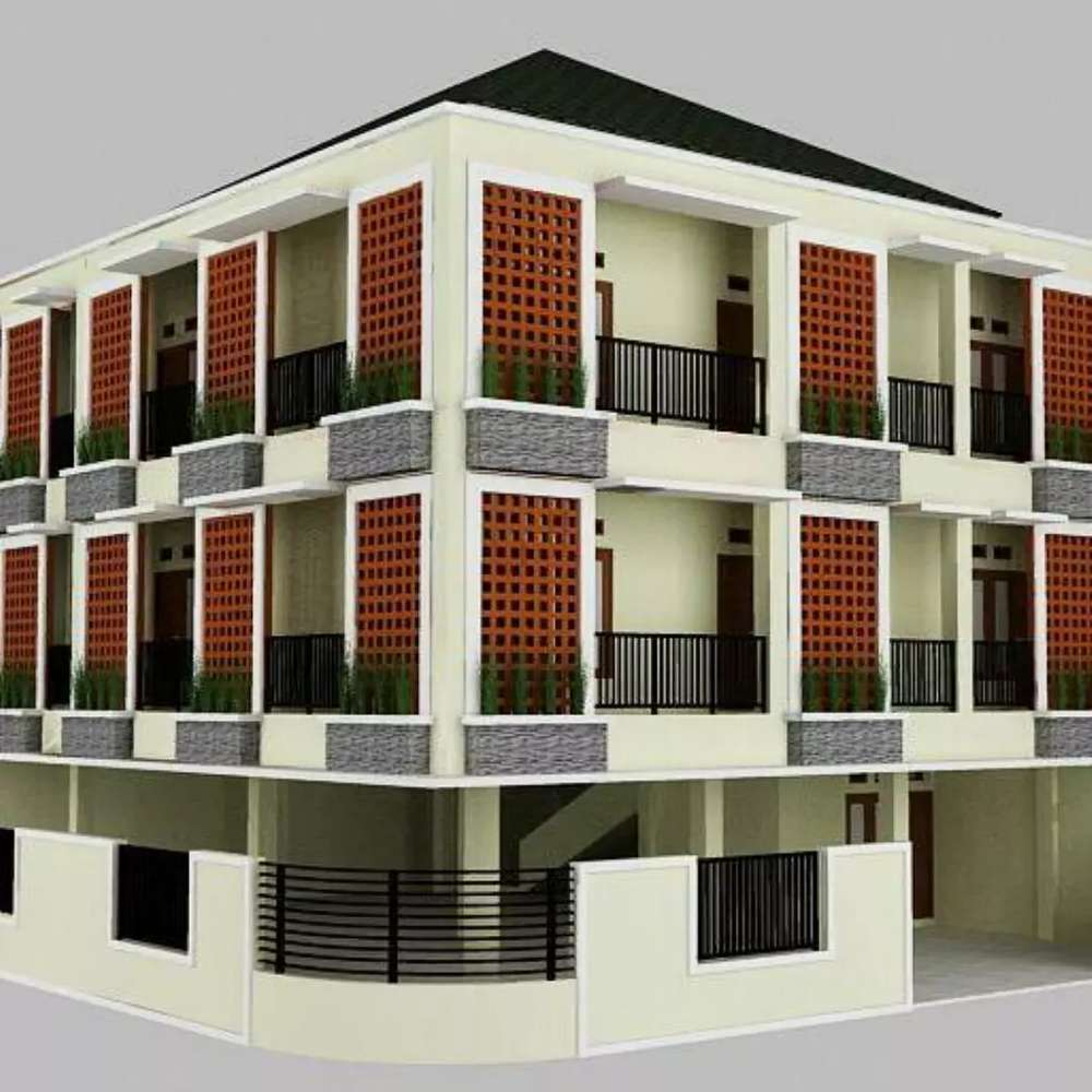 jual rugi kost premium 12 kamar 3 lantai tanpa perantara
