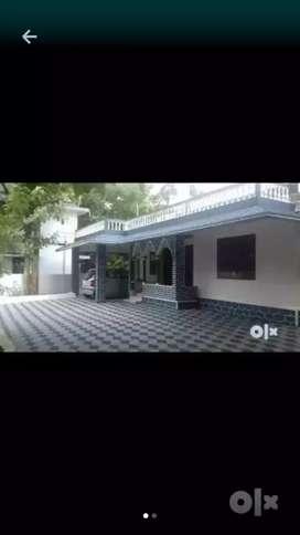 Aluva east kadungalloor, beautyful house for rent
