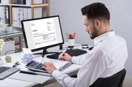 Accountant with GST and Income tax