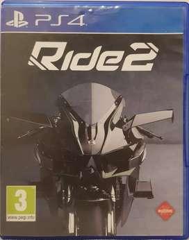 Kaset/bd games playstation 4 original sony Ride 2