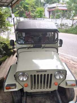 working condition Jeep