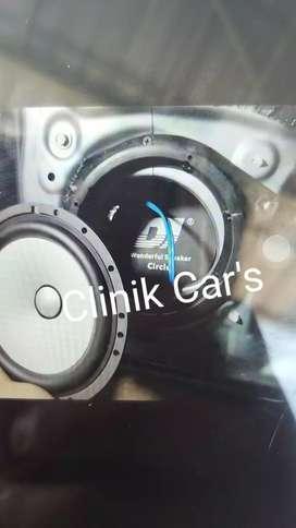 Peredam speaker dj circle set kanan dan kiri**