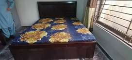 2  Dabal bed with metrs very good.
