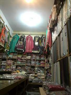 Clouth and garments shop