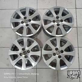 OBRAL Velg OEM Mazda 2 R15 H4x100