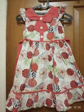Dress Anak Donita 5 tahun Butik Bagus Cantik Murah